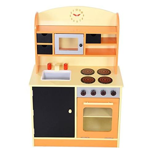 Wood Cooking Pretend Set Toddler Playset