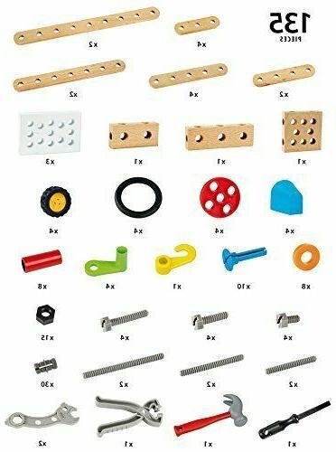 BRIO Builder Construction Set Kit 135 Pieces