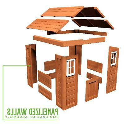 Wooden Cottage Outdoor Fun
