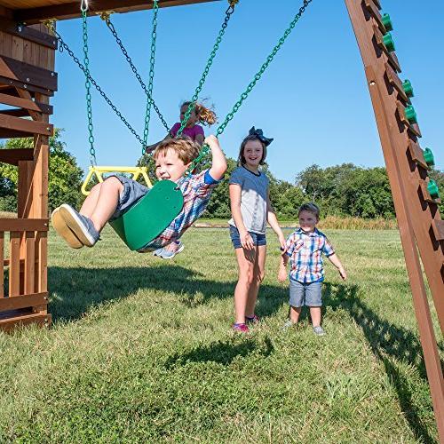 Backyard 1801080 Woodridge Elite Swing