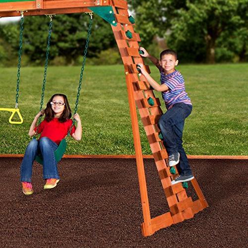 Backyard Woodridge II All Cedar Swing