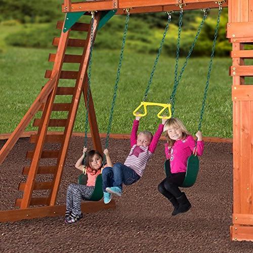Backyard Woodridge All Swing Set