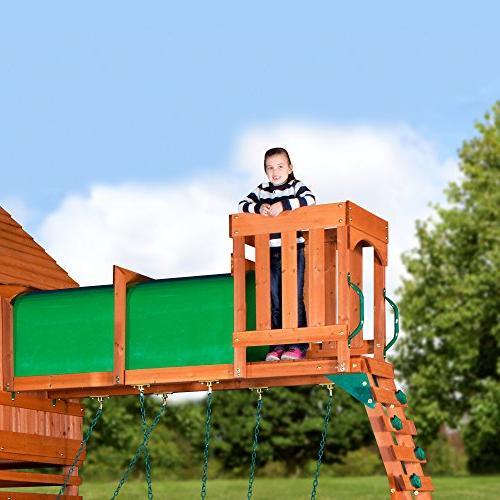 Backyard Discovery Woodridge All Swing