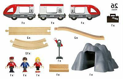 BRIO World Railway Set 26 with