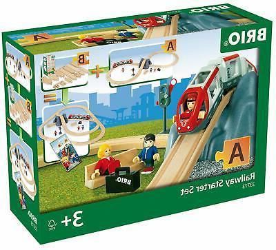 world 33773 railway starter set 26 piece