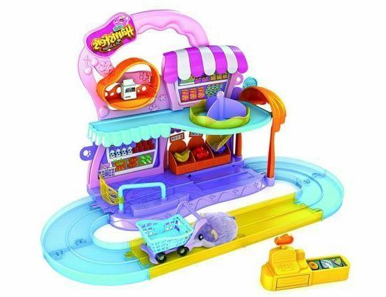 zuru supermarket play set w 1 hampster