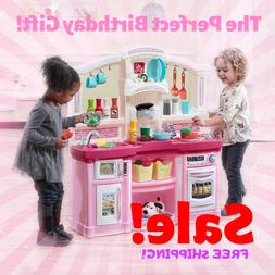 Pretend Toy Kitchen Playset Kids Play Set Children Cooking T