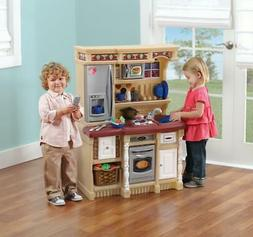 Step2 LifeStyle Custom Play Kitchen with 20 Piece Accessory
