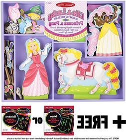 Lila & Lucky: Magnetic Dress-Up Set + FREE Melissa & Doug Sc