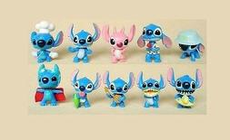 Lilo & Stitch Playset 10 Figure Cake Topper * USA SELLER Toy