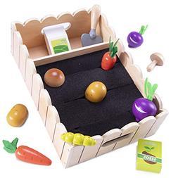 My Little Garden | Growing Vegetables Wooden Playset Activit