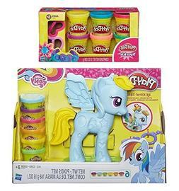 Play-Doh My Little Pony Rainbow Dash Style Salon + Play-Doh