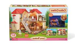 Calico Critters Luxury Townhome Pretend Play Set For Girls G