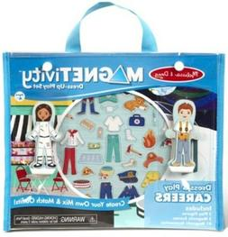 MAGNETIVITY Magnetic Dress-Up Play Set Dress & Play Careers
