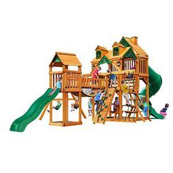 Gorilla Playsets Malibu Treasure Trove I Swing Set w/ Timber
