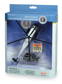 Marine One Presidential Helicopter Play Set
