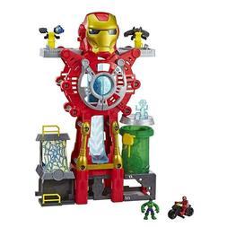 Playskool Heroes Marvel Super Hero Adventures Iron Man Headq