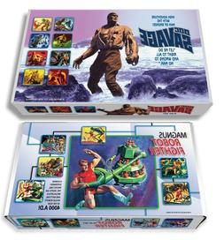 "Marx ""Doc Savage"" Play Set Box OR ""Magnus, Robot Fighter"" Pl"