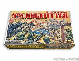 Marx/ Mego World War II Battleground Play Set Box