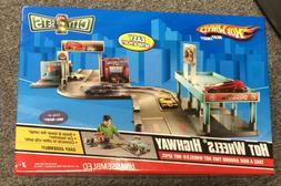 Mattel Hot Wheels City Sets Highway Play Set Car Toys Model