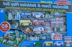 melissa and doug deluxe wooden town