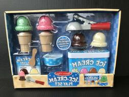 melissa and doug ice cream play set
