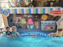 Melissa & Doug Scoop & Serve Ice Cream Shop Play Set New 3+