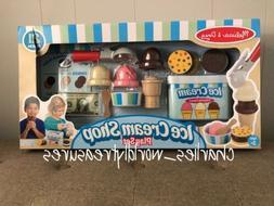 Melissa & Doug  Scoop & Serve Ice Cream Counter  - Food Play