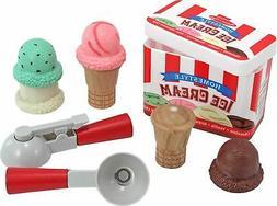 Melissa & Doug - Scoop & Stack Ice Cream Cone Play Set