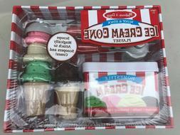 Melissa & Doug Scoop & Stack Ice Cream Cone Magnetic Pretend