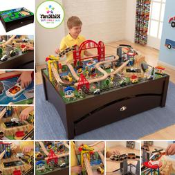 Metropolis Train Table And Set With 100 Brilliantly Detailed