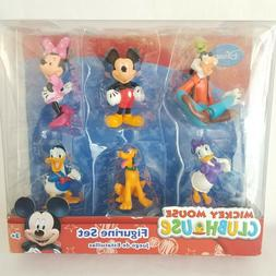 Disney Mickey Mouse Clubhouse Figure Play Set - 6 Figurines