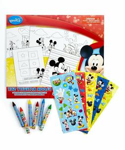 Disney Mickey Mouse Clubhouse Floor coloring Activity Set Mi