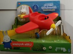 Miffys Adventures Red Plane Toy Playset Little Rabbit for Ch