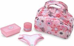Melissa & Doug Mine to Love Diaper Bag Set, Dolls & Dollhous
