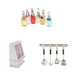 mini kitchen accessories for 1 12 scale