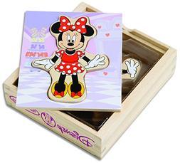 Melissa & Doug Disney Minnie Mouse Mix and Match Dress-Up Wo