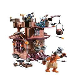 PLAYMOBIL Mobile Dwarf Fortress, Play Set For Kids Age 5+, 2