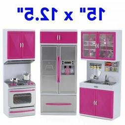My Modern Kitchen Full Deluxe Kit Battery Operated Kitchen P
