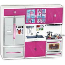 Liberty Imports My Modern Kitchen Mini Toy Playset w/ Lights