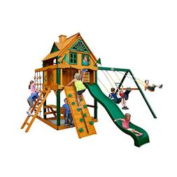 Mountain Ridge Swing Set with Timber Shield