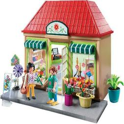 PLAYMOBIL My Flower Shop, Play Set Toy For Kids Age 4+, 2-Da