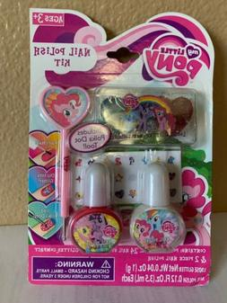 My Little Pony Nail Polish Gift Set & Free Activity Book