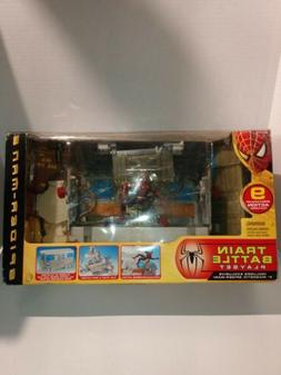 N Marvel Toy Biz Spiderman 2 Subway Train Battle Play Set 20