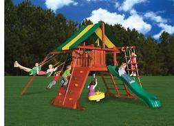 NEW Gorilla Playsets 01-0010 Sun Valley I Swing Playset Slid