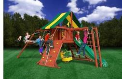 NEW Gorilla Playsets 01-0011 Sun Valley II Swing Playset Sli