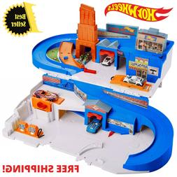 New 2020 Hot Wheels Flying Customs Sto and Go Playset Target