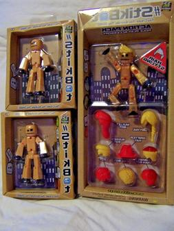 NEW StikBot Action Pack Series 1 Hair Styling - Role Play Ac