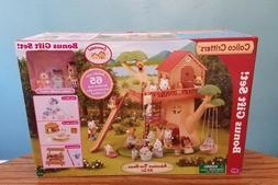 NEW Calico Critters Adventure Treehouse Gift Set w/ Hazelnut