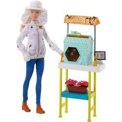 NEW Barbie - Bee Keeper Careers Playset New in Box NIB NWT B